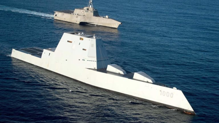 The Navy's Zumwalt-Class Stealth Destroyers Aren't Ready To Fight