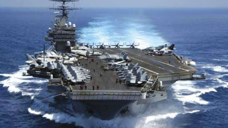 """Will the Navy Need to Change the USS Ford After """"Shock Trials"""" - Bomb Explosions"""