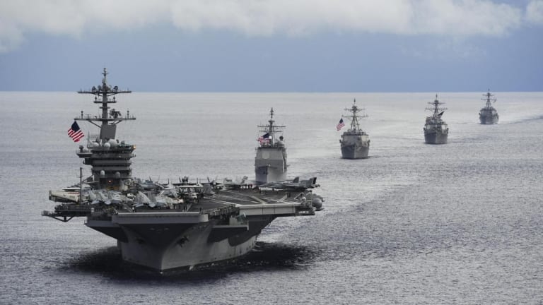 France 'Sunk' a U.S. Navy Aircraft Carrier Back in 2015