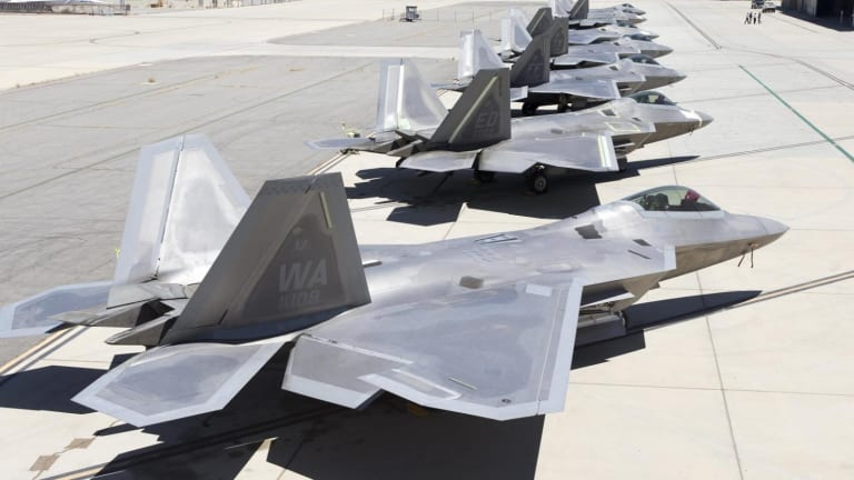 Can China Track US Air Force F-22s Over the East China Sea?