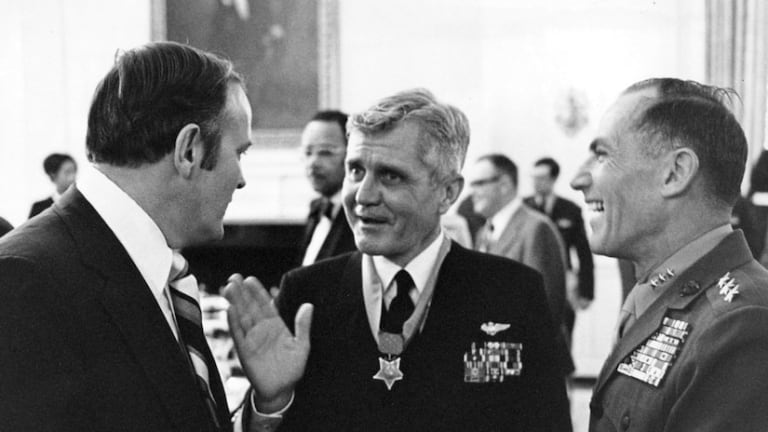 Medal of Honor Monday: Navy Vice Adm. James Stockdale
