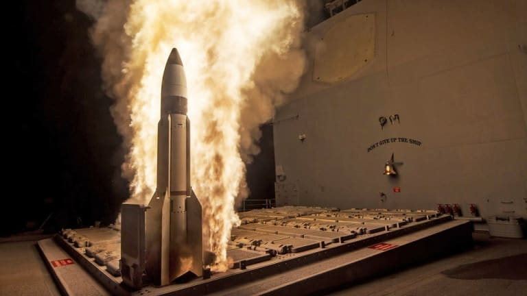 Navy Destroyers Might Kill Hypersonic Missile Attacks