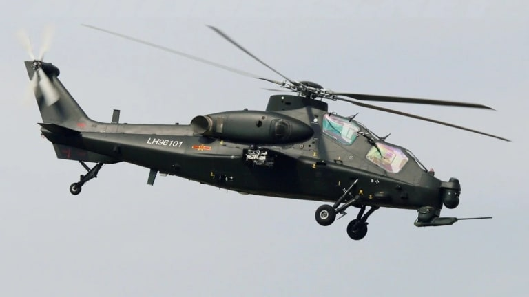 Is China's Z-10 Anything More Than A Knockoff Apache Helicopter?
