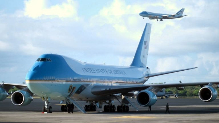 Pentagon Pursues Supersonic Air Force One