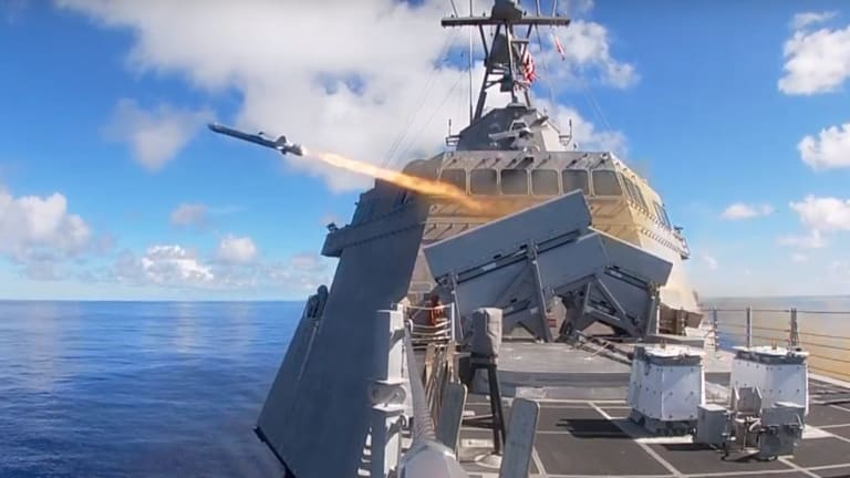"""Navy Strategy Fast-Tracks New Weapons for  """"Offensive"""" Attack"""