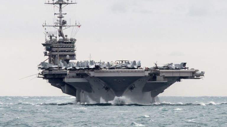 The Navy is moving its aircraft carriers to prep for war with Russia & China