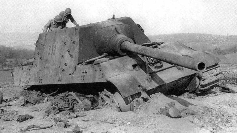 'Jagdtiger' Tank Destroyers Were Another Nazi Blunder