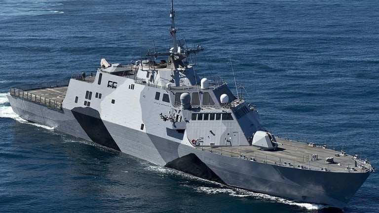 New Littoral Combat Ship Weapons to Fight Off Attacking Small Boat Swarms