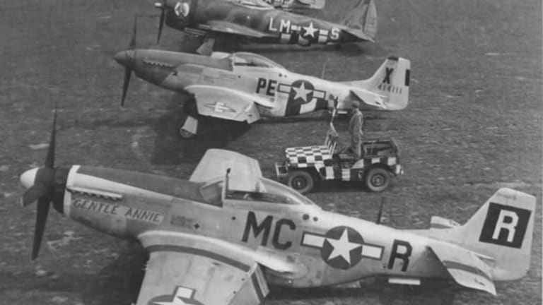 WWII Air War: Air Force Planes Dogfight Against Nazi Luftwaffe