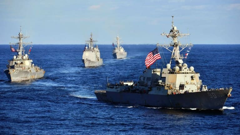 Will The U.S. Navy Reach 355 Ships? Fleet Size vs. High Tech