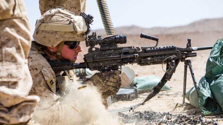 These Are All the Standard Issue Weapons Given to US Marines