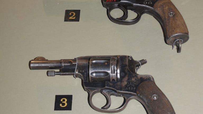 "The Russian Nagant Gun - History's First ""Silencer"""