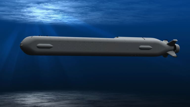 Navy Pursues 2 New Large Submarine-Launched Undersea Attack Drones
