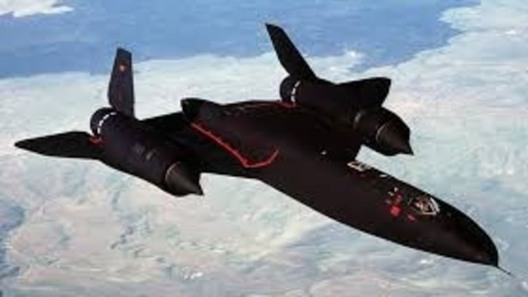 Even With All the Secrecy, the SR-71 Spy Plane Was Hard to Hide