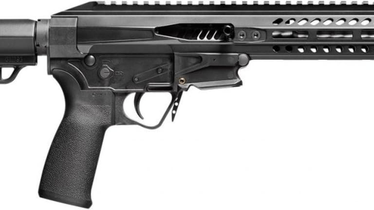 The Patriot Ordnance Factory's Very Non-Conforming .22 LR AR-Style Pistol