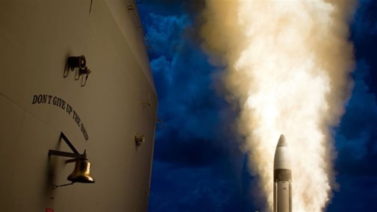 Navy Shoots Incoming Missile Out of Space