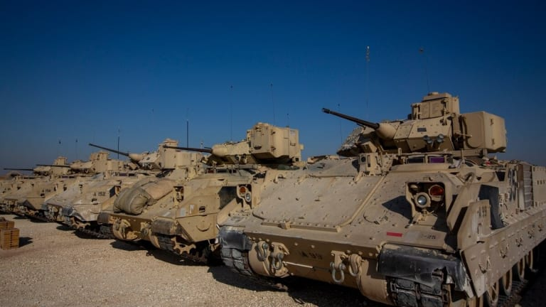 """Army Says """"Sky's the Limit"""" With New Armored Infantry Carrier"""