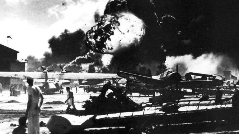 Unforgettable Photos from the Japanese Attack on Pearl Harbor