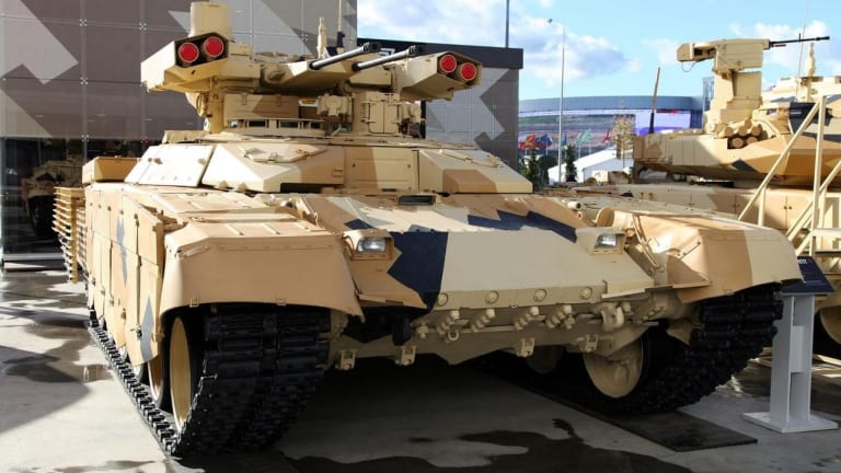 Russia's 'Terminator' Tank Isn't All It Is Cracked Up to Be