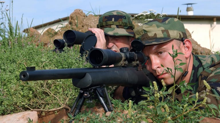 The U.S. Army's Long-Serving Sniper Rifle Has Some Hunting Rifle Genes