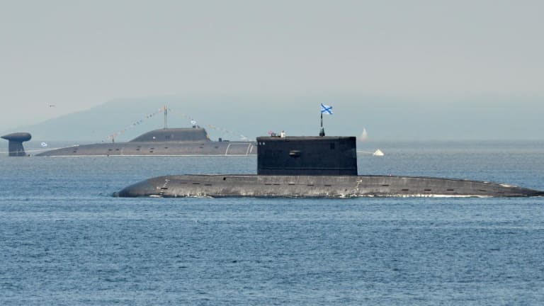 A New Type of Chinese Submarine Is Supposedly Breaking Records.