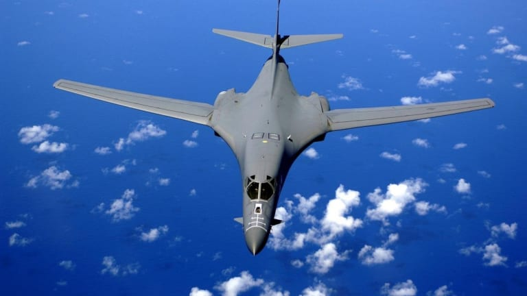 Air Force Arms B1-B With Hypersonic Weapons