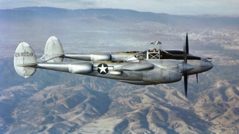 Why Nazi Germany Feared the P-38 Lightning
