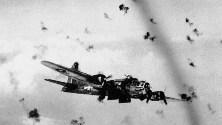 This Was the Safest Place to be in a US Bomber Flying Through German Flak in WW2