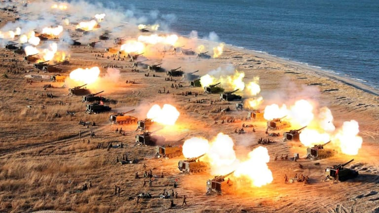 North Korea Nightmare: 1 Picture That Terrifies the Army and Marines