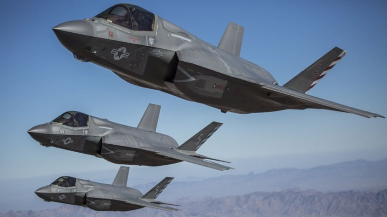 """Air Force Maps New Future Weapons Plan for F-35 - Adds """"StormBreaker"""" Bomb"""