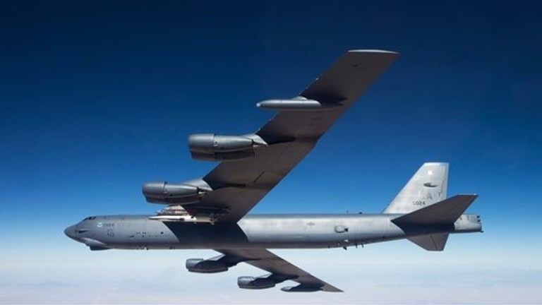"B-52 Gets New Internal Weapons Bay - Carries 8 ""J-Series"" Bombs"
