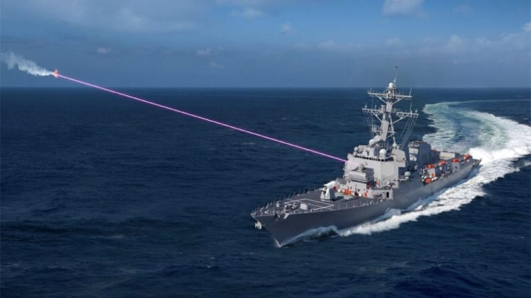 Navy to Deploy Destroyers With New 60kw Laser Attack Weapon