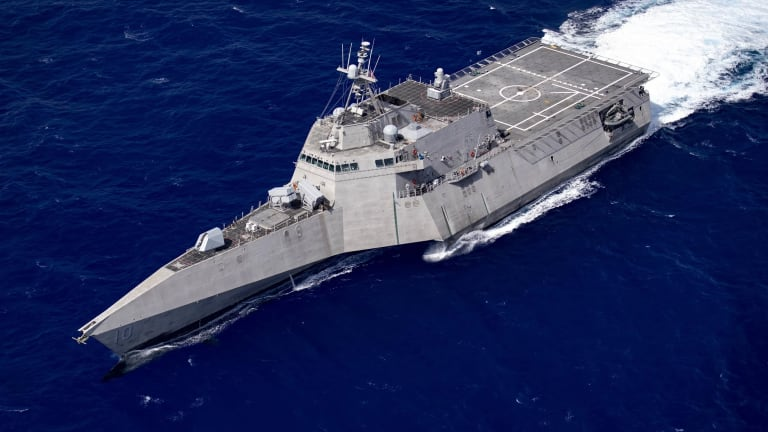 Navy's Fast-Growing LCS Fleet Will Control Air-Surface-Undersea Drones