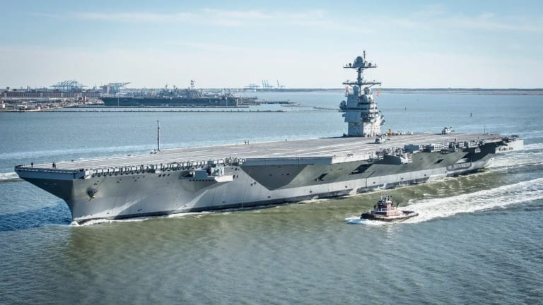 Navy Makes Ford-Class Carriers More Lethal
