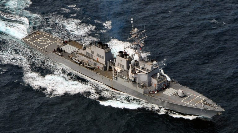 US Navy Challenges Russia - Sends Destroyer to Black Sea