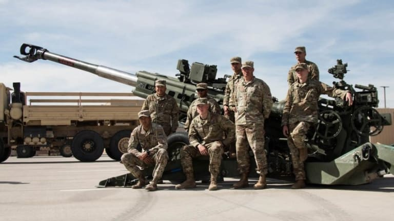 Why One Never Wants to See the M777 Howitzer in this Position