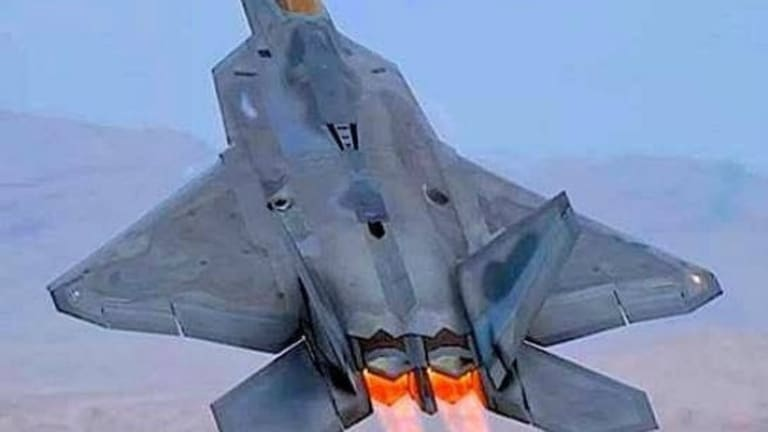 Stealth No More?: China Claims It Can Track U.S. Air Force F-22 Raptors