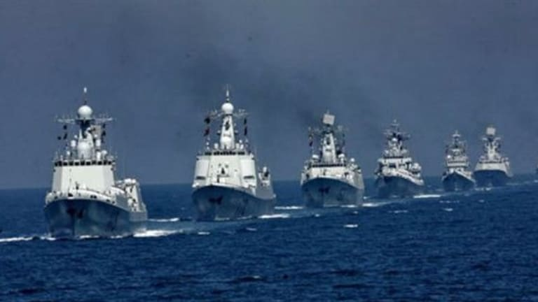 Report: Chinese Warships Enter U.S. Waters