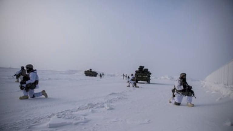 Special Operations Forces Train in Arctic Conditions