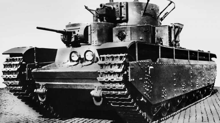 Why the Soviet Union Hated Its Own T-35 Tank
