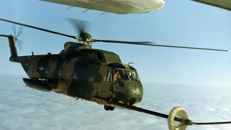 One Company Tried to Turn the U.S. Air Force's Rescue Choppers Into Gunships