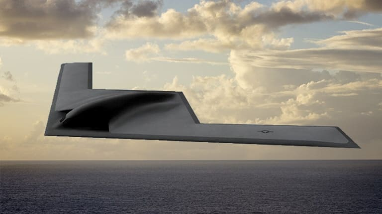 "First B-21 Test Aircraft Starting to ""Look Like a Plane"""