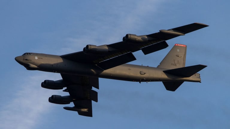 Air Force Revs Up Upgraded Weapons & Tech for B-52 - to Serve Into 2050s