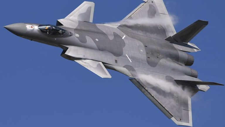 How Dangerous is China's Stealthy 5th-Gen J-20? Can it Rival the F-22 or F-35?