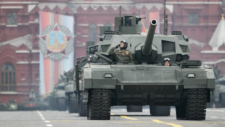 Is Russia Running Out of Tanks? Russian Tank Crisis