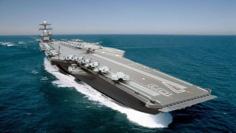 Can America's New Ford-Class Aircraft Carriers Take on Russia, China or Iran's A