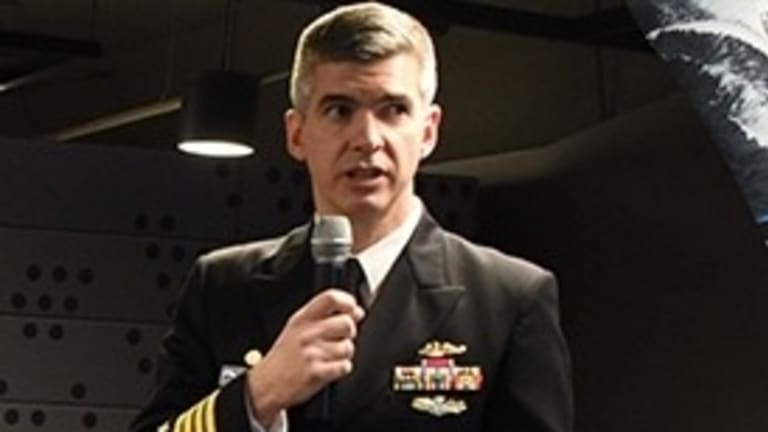 Video Intv: Navy Capt. Small - Surface Attack Drones, AI & Maritime Warfare