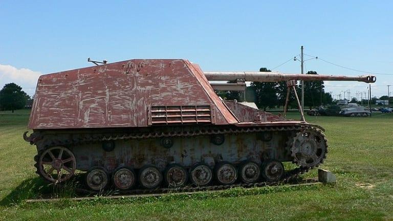 The Nashorn Was Germany's World War II Tank Sniper