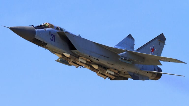 Russia Places 10 MiG-31s on Experimental Combat Duty to Carry Hypersonic Missile