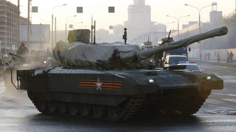 Russia's T-14 Tank is Getting a New Gun